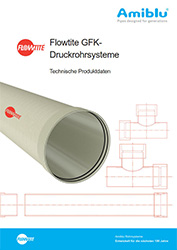 Flowtite GFK-Druckrohrsysteme Cover