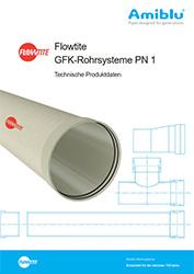 Flowtite GFK-Rohrsysteme PN 1