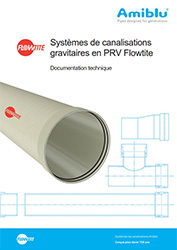 Systemes de canalisations gravitaires Flowtite